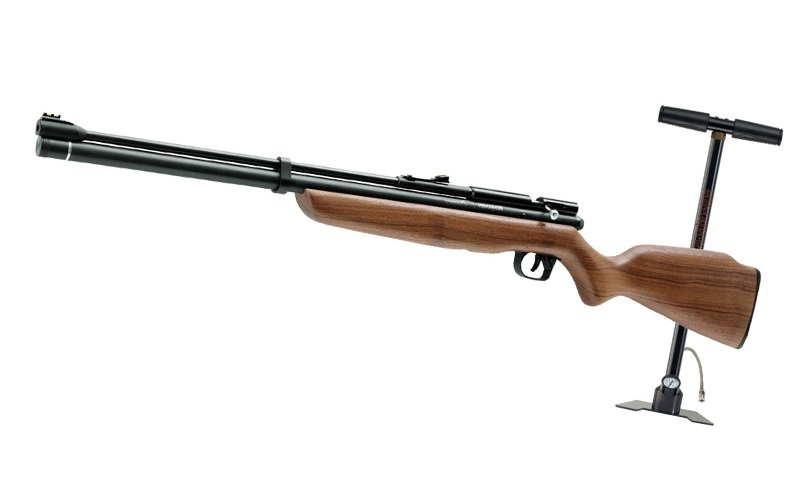 Crosman Benjamin Discovery Pre-Charged Pneumatic PCP Dual Fuel .22 Air Rifle and Pump