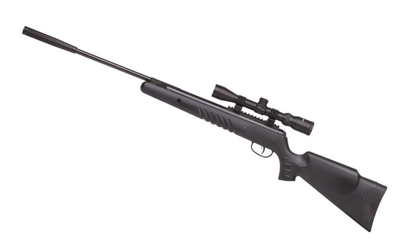 Crosman Nitro Venom Dusk Break Barrel Air Rifle (.22) powered by Nitro Piston