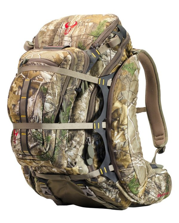 Badlands Clutch Camouflage Hunting Pack - Hydration Compatible Rifle and Bow Carrying Camo Backpack