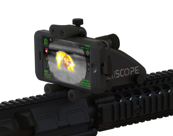 Inteliscope Thermal Scope Bundle for IPhone and Android