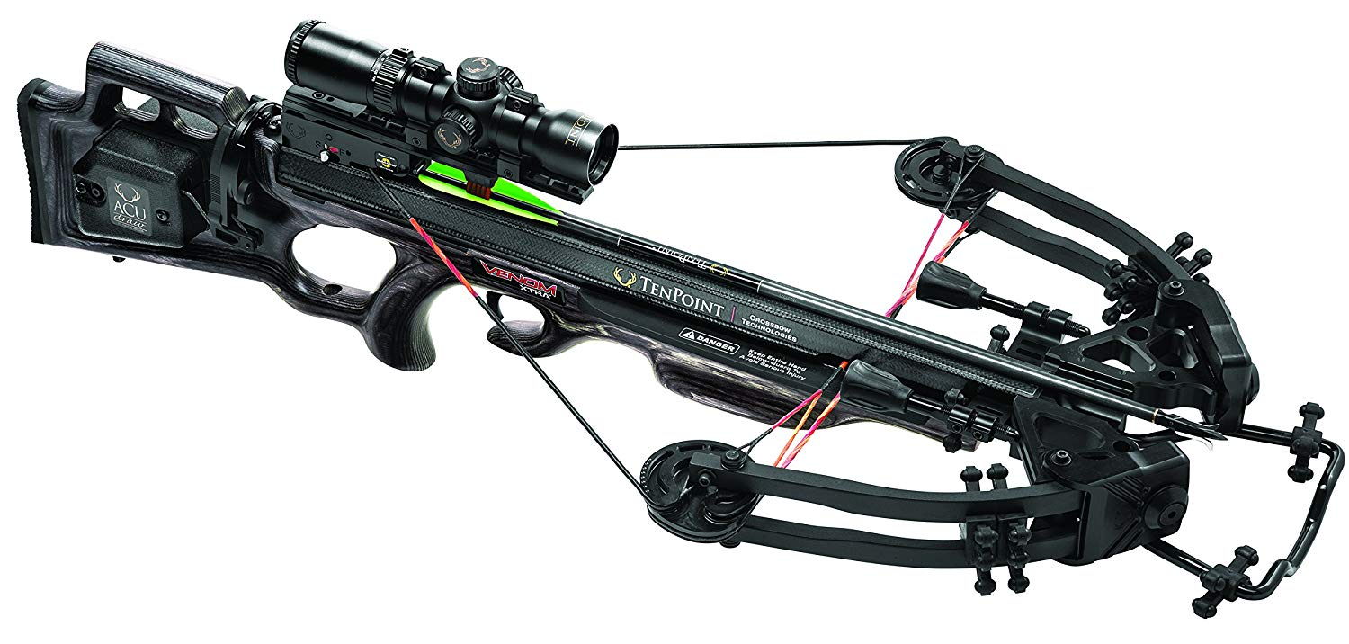 Tenpoint's Venom Xtra Crossbow Package